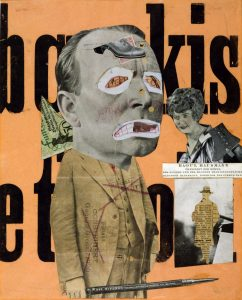 Figure 3: Raoul Hausmann, The Art Critic, 1919-1920.