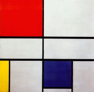 Piet Mondrian, Composition C, 1935