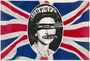 Figure 4:Jamie Reid, God save the Queen, 1977