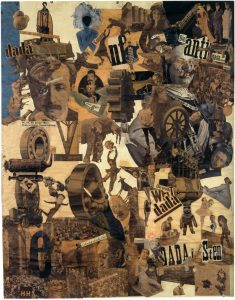 Figure 1: Hannah Höch, Cut with a Kitchen Knife, 1919-1920.