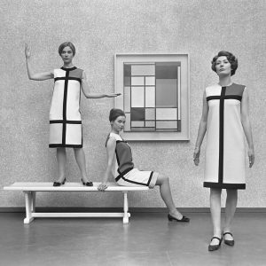 Mondrian dresses by Yves St Laurent (1965)
