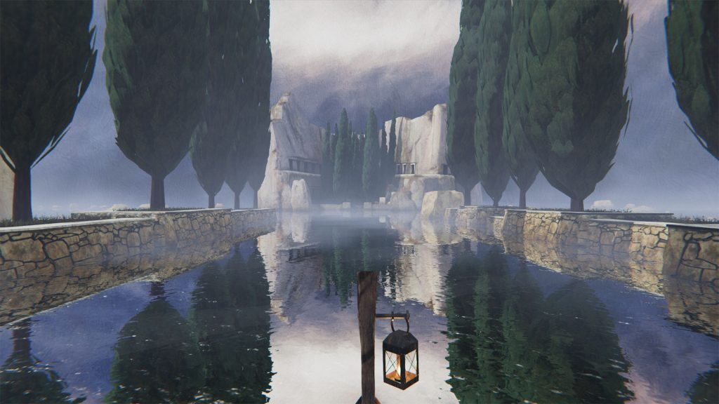 Unframed VR: The Isle of the Dead