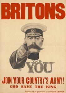 Alfred Leete, Lord Kitchener Wants You, 1914