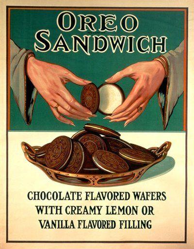1924, Oreo Ad Poster (Craft Foods)