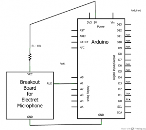 electret breakout wiring