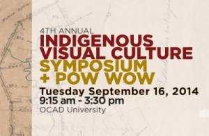 Poster for INVC Symposium and Pow Wow Sept.16