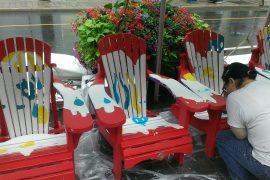 John Street Muskoka Chairs