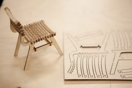 Tiny CNC chair - Rapid Prototyping Centre