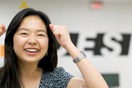 Clara Wu, 2019 graduate from Industrial Design