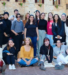 Faculty of Art Florence Program Students