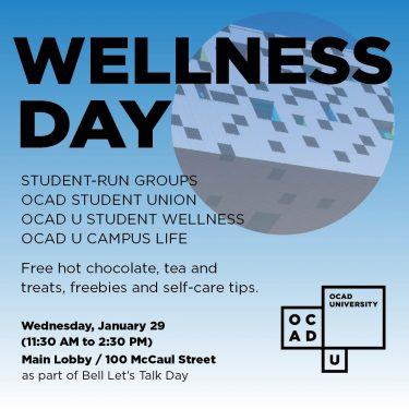 Wellness Day at OCAD U