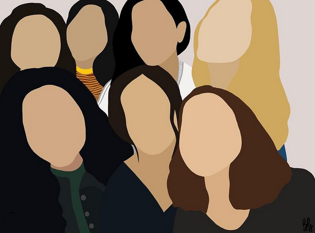 International Women's Day by Bahar Goel