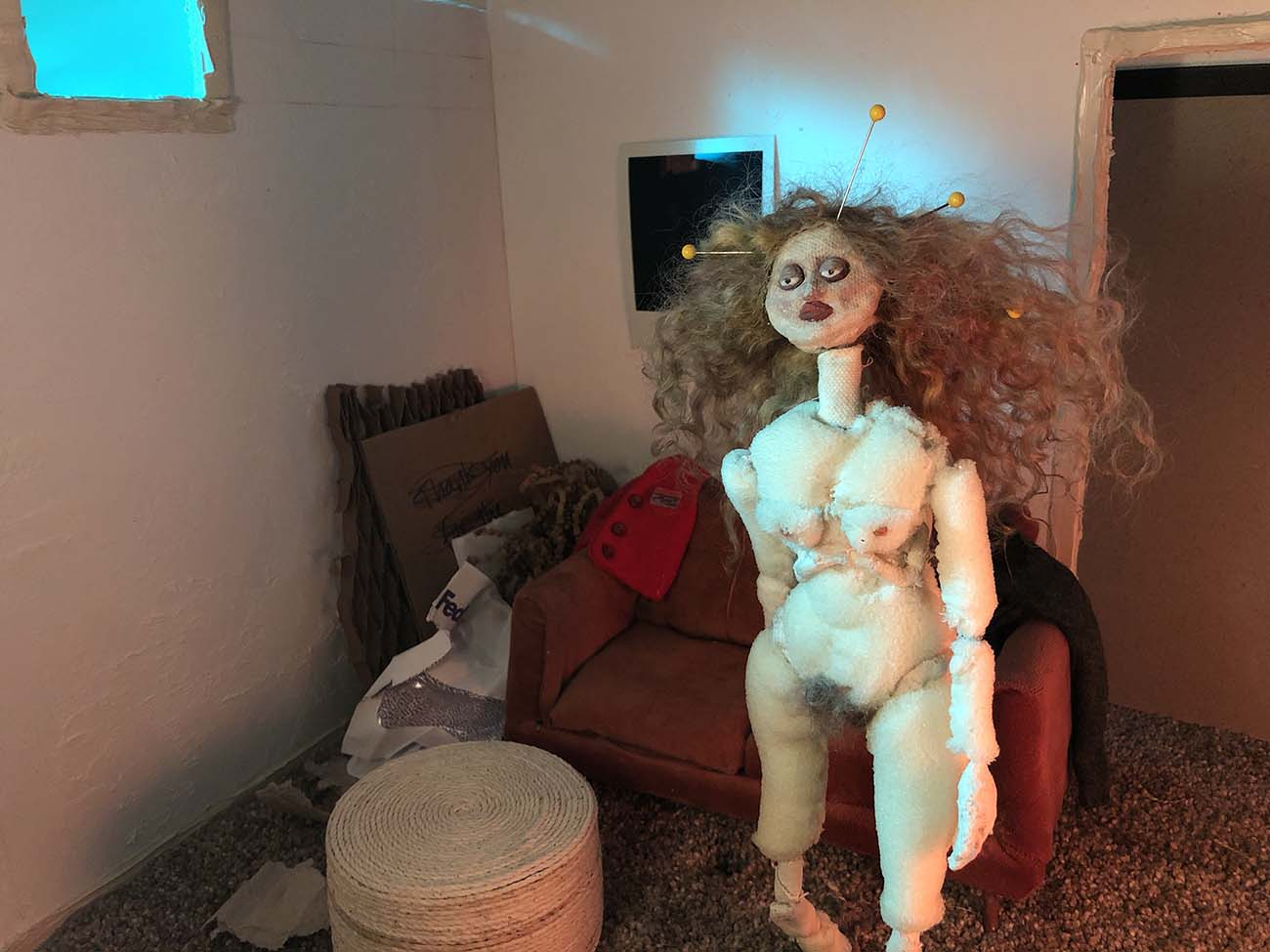 Still from Nudey Judy (2021) by Liz Adler