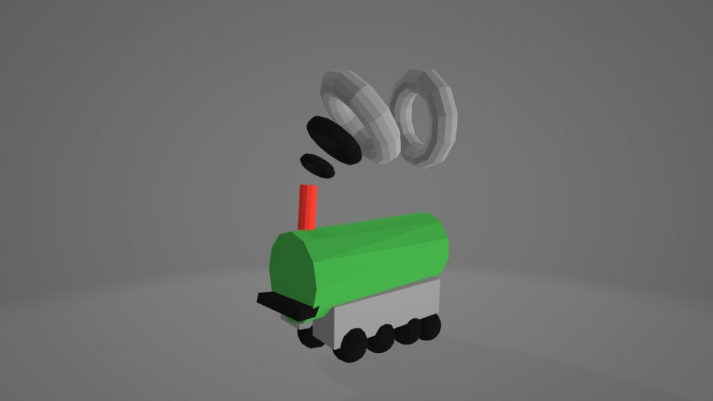 google-blocks-train-model