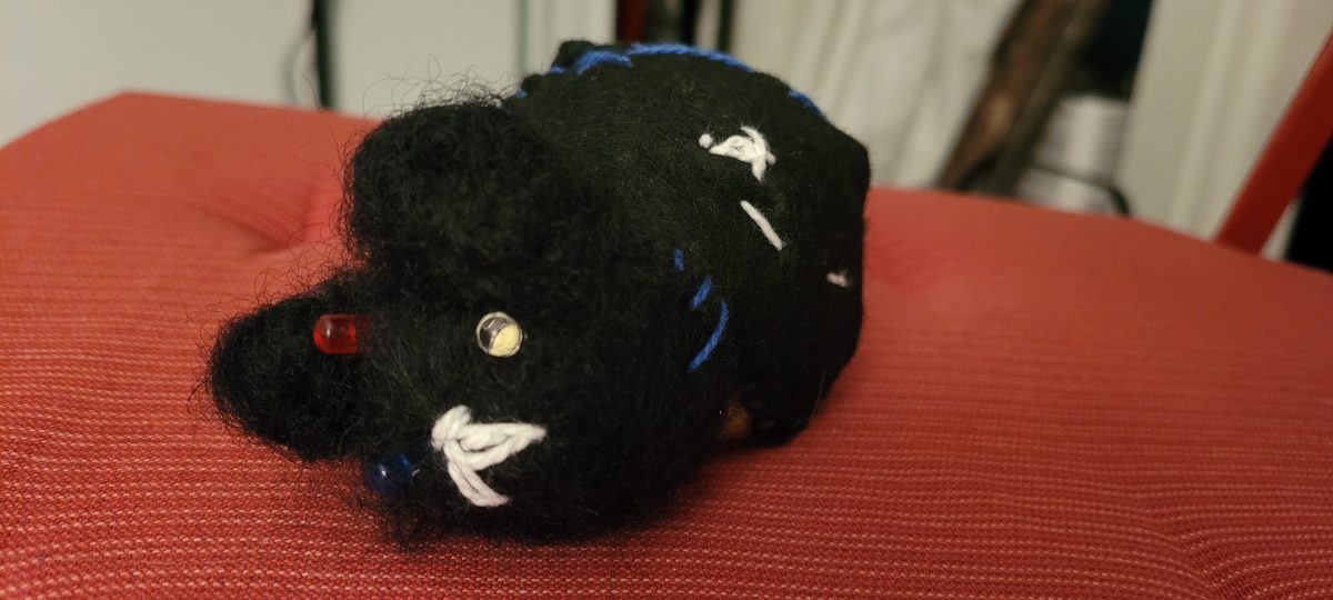 Voodoo Cat: Pin Cushion With a Twist