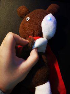 working-bear