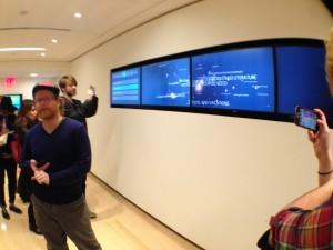 Noah Feehan at NYT labs