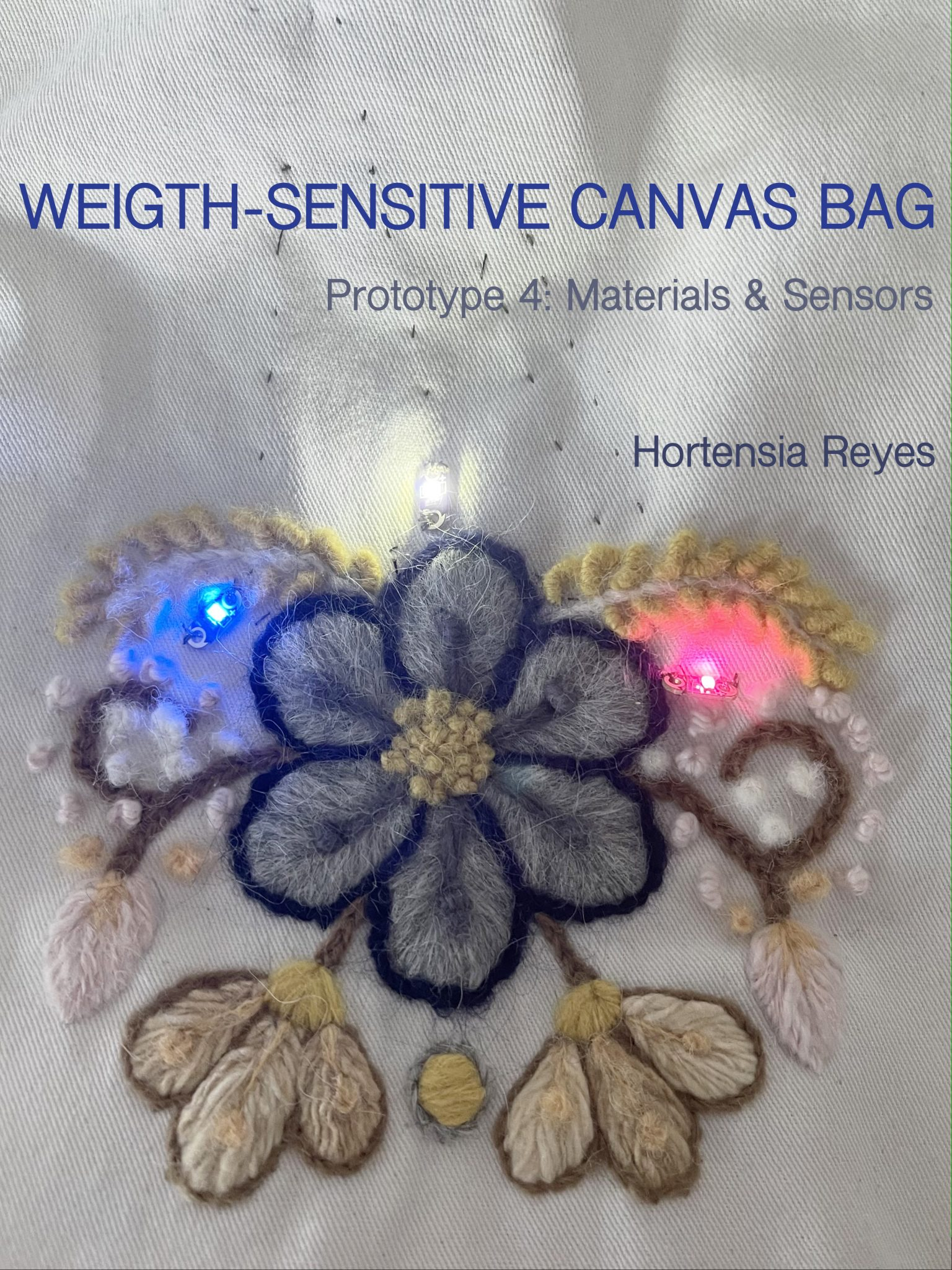 Weight-Sensitive Canvas Bag
