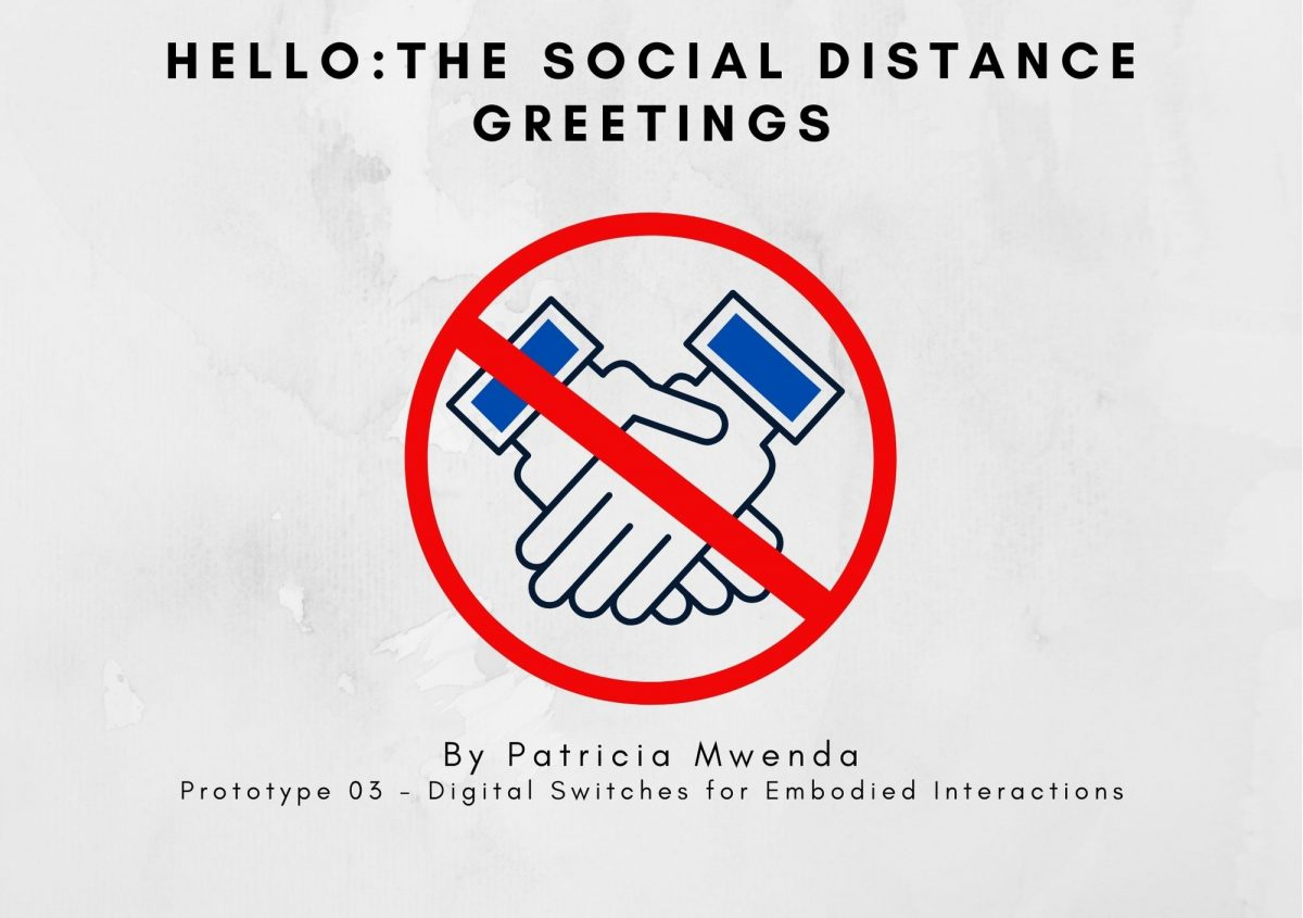 Hello: The Social Distance Greetings by Trish