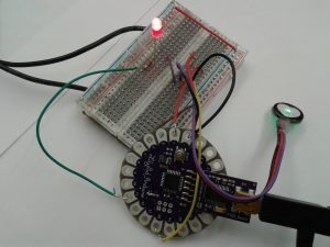 led-and-pulse-sensor-setup