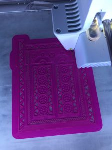 Printing design in Ultimaker 3