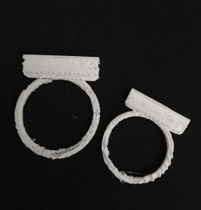 Figure 8: The two finished versions of the Salt Ring