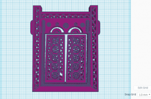 Imported Illustrator SVG file in TinkerCAD