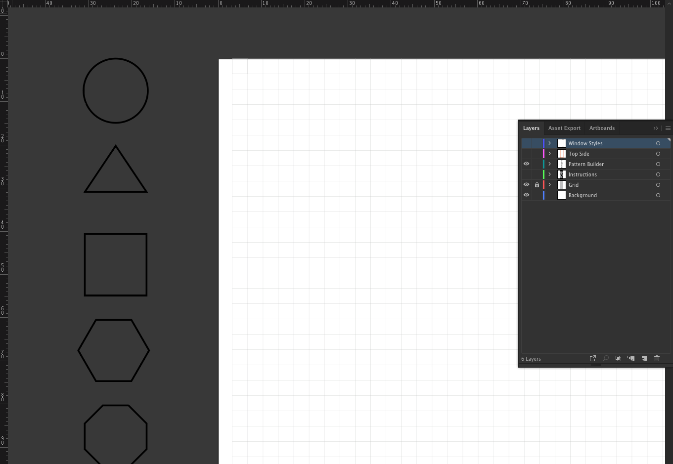 Pattern Builder Interface