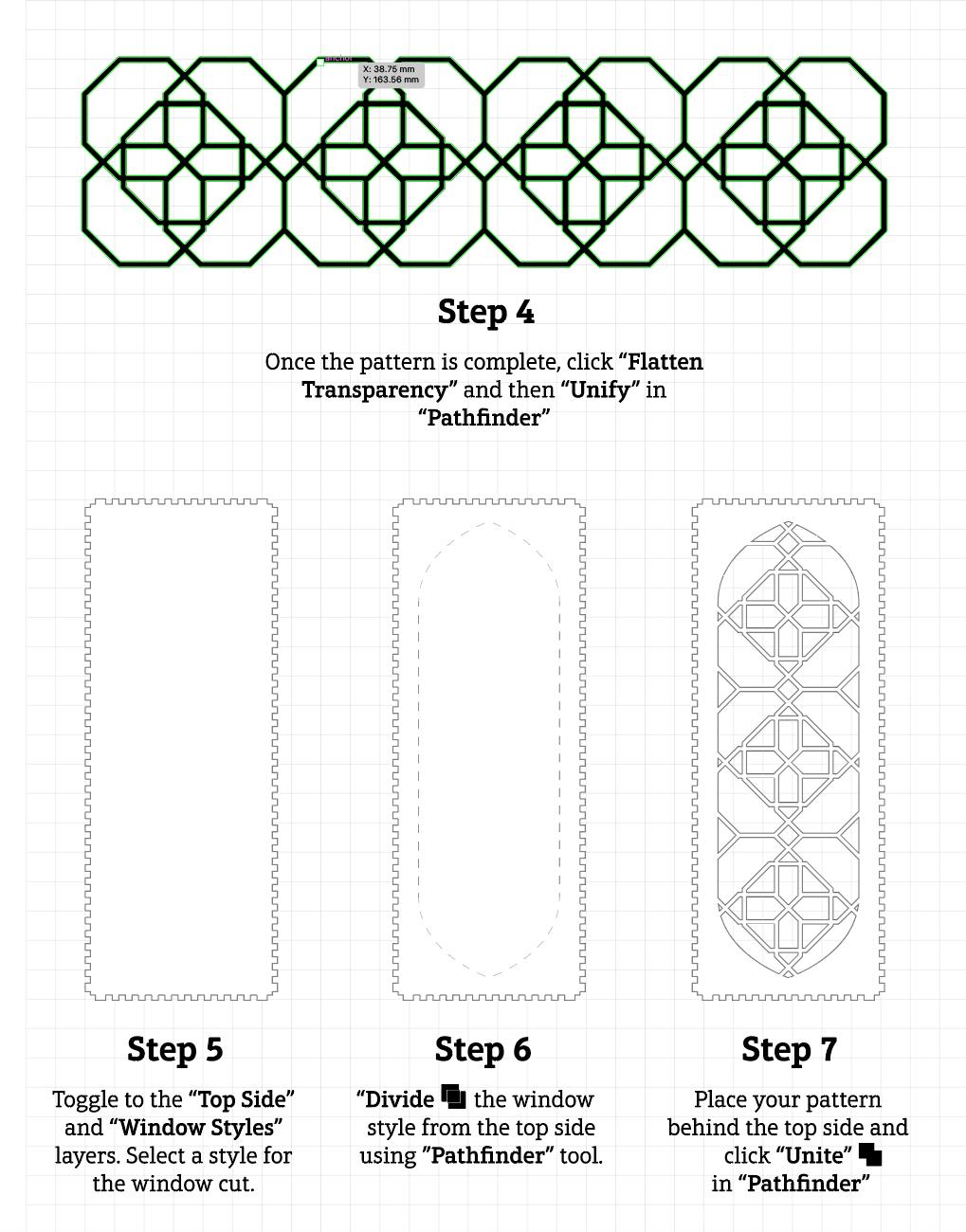 Pattern Builder - Instruction B
