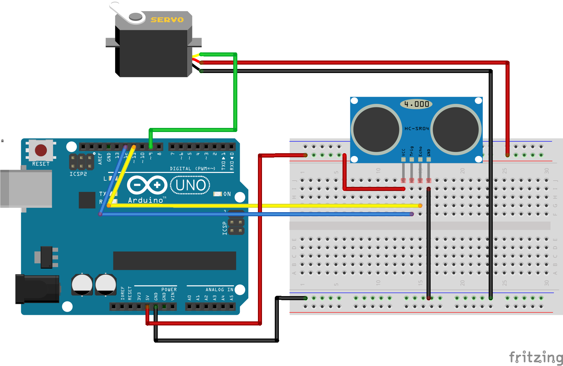 3 Axis Arduino Accelerometer / Inclinometer Tilt / Roll