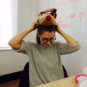 Before it was Stress Bull,  it was Weird Reindeer Hat.