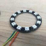 Neopixel ring - front