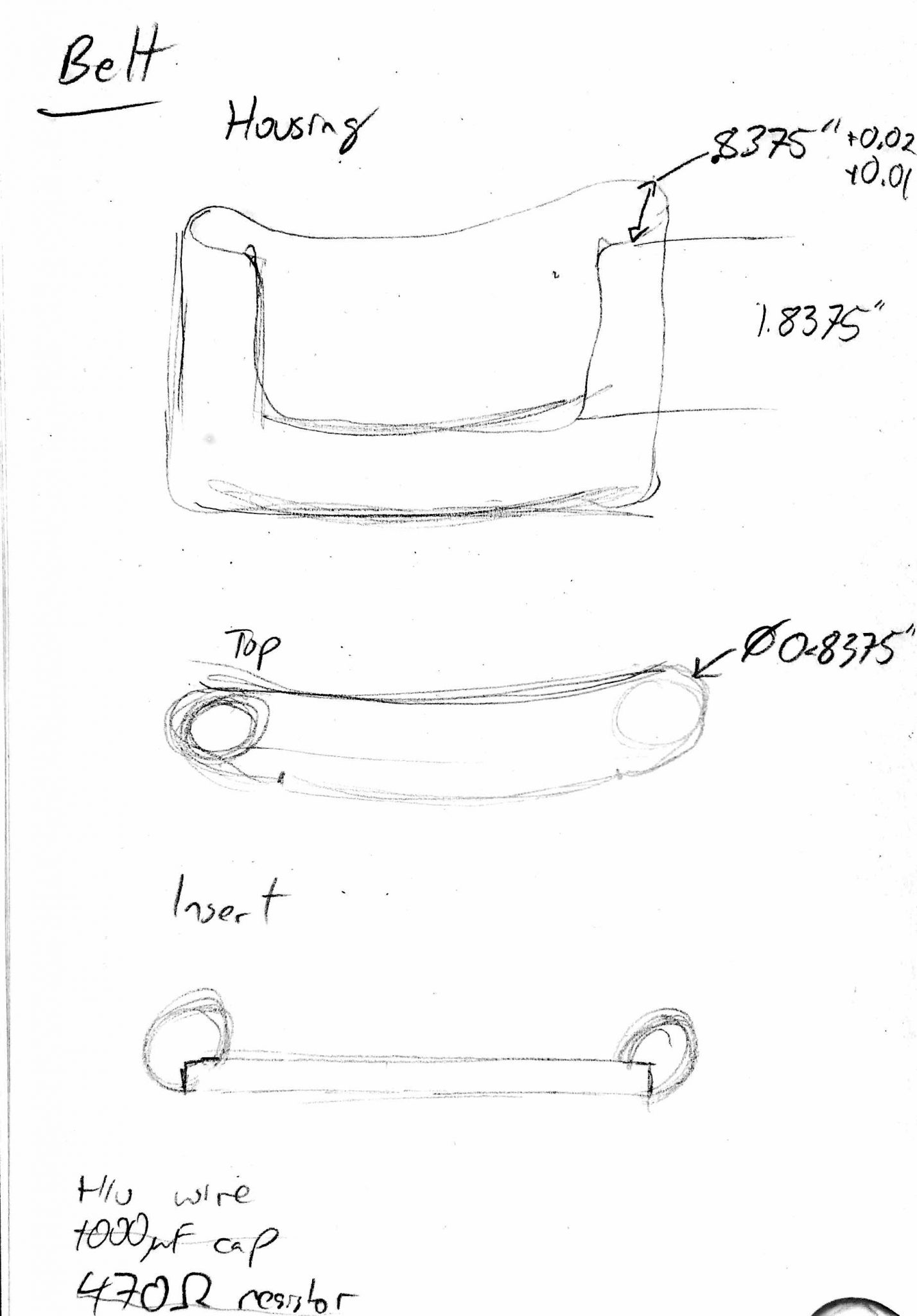 Buckle design v.2 based on cowboy belt buckle which holds a 3oz flask.