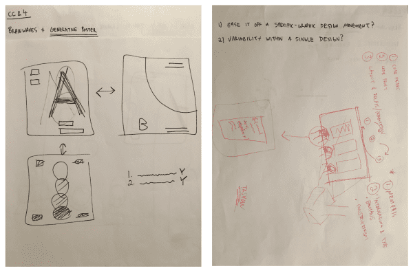Sketches of Initial Concept