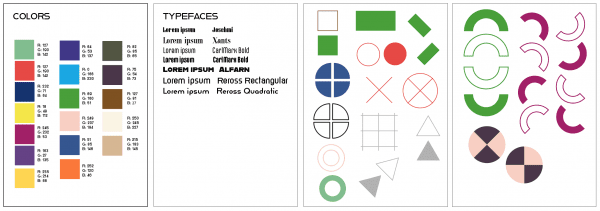 Elements identified for the Bauhaus iteration of project