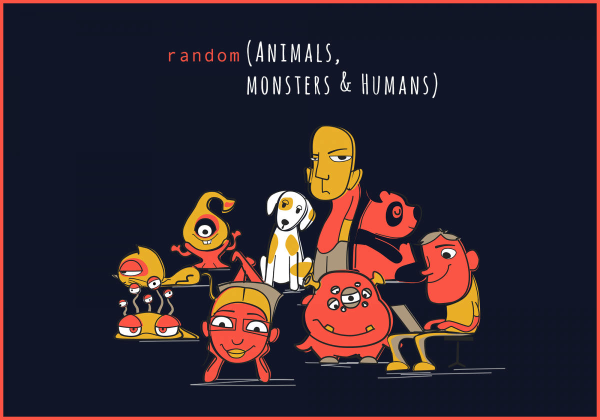 random (ANIMALS, MONSTERS & HUMANS)