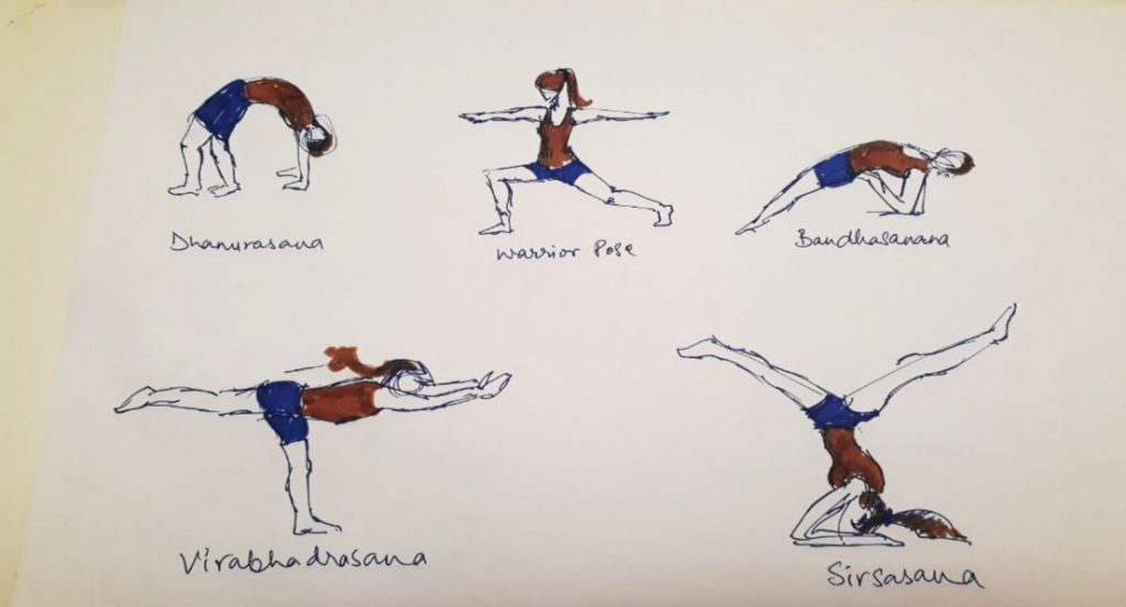 yoga-sketches