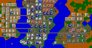 SimCity, 1989 Video Game (Photo Credit: imgur.com)