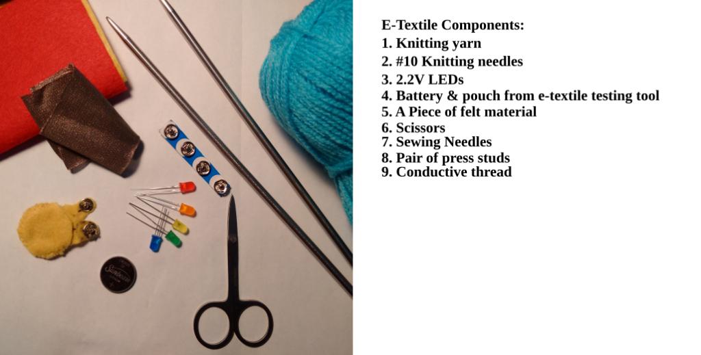 E-Textile Components