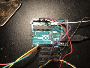 Using an Arduino Uno, this allowed me to use the controller for most wires, but eventually I had to use a small breadboard