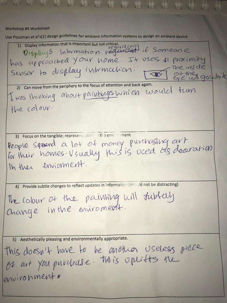 Workshop 4 worksheet