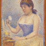GeorgesSeurat Young WomanPowdering 1889