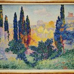 Henri Edmond Cross CypressinCagnes1908