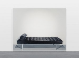 Cynthia Daignault, Barcelona Couch, 2011 Oil on linen, 72 x 90 inches