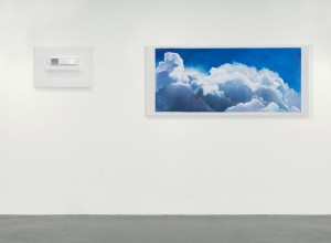 Cynthia Daignault, I think of the Big Sky, and nothing matters much to me..., Oil on linen, 2011 in 2 parts: 24 x 34 inches 42 x 96 inches