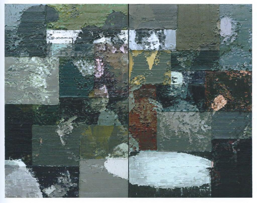 Li Songsong, Actors, Oil on Canvas, 290 X 360 cm (114 x 142 inc.)