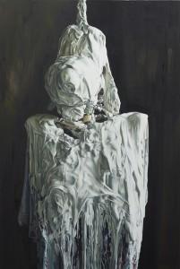 Till Rabus, Plaster n°1, Oil on canvas,  150x100cm  2013