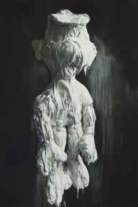 Till Rabus, Plaster n°3, Oil on canvas,  150x100cm,  2013