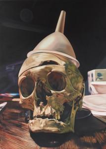Till Rabus, Crânerie n°1, Oil on canvas,  70x50 cm,  2012