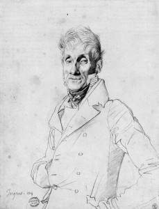 Ingres-Portrait-of-a-Man-possibly-Edme-Bochet